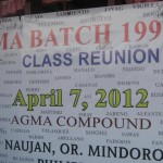 AGMA Batch 1991 Reunion 1